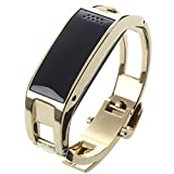 TOOGOO(R) Smart Bracelet Bluetooth Wrist Watch Phone for iOS Android iPhone Samsung Support