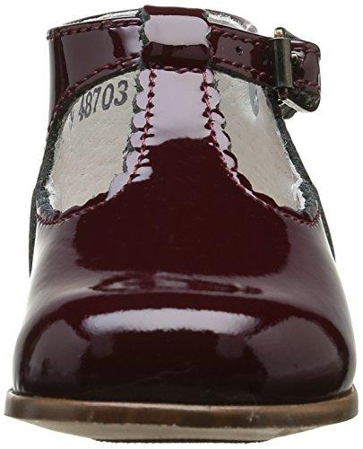 Little Mary Bastille, Chaussures Premiers Pas Bébé Fille Rouge (Apache Amarante)