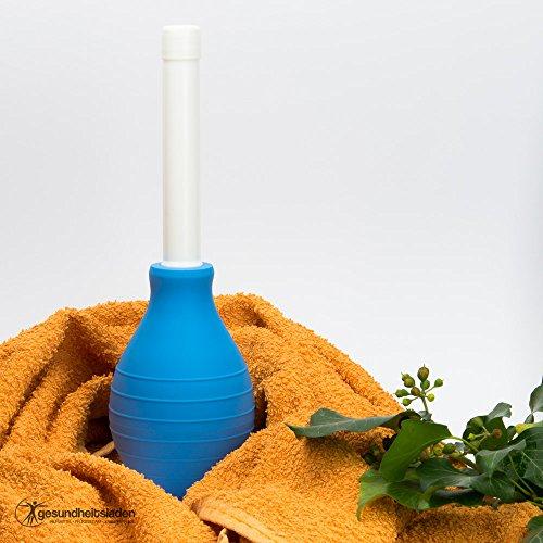 Frauendusche Standard 2-teilig 220 ml blau - Intimdusche Vaginaldusche