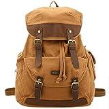 KIPTOP Rucksack Herren Daypack Top Qualität Leinwand Schultertasche backpack for men