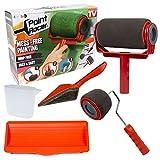 Paint Racer Set Pro +–Set di accessori–Rullo di vernice Paint Racer riempibile e getto. Per Pittura senza sporcare e senza Proiettore.