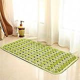 FLYRCX Home bagno doccia tappeto impermeabile PVC 36*71cm,D