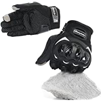 COFIT Motorbike Gloves, Full Finger Touchscreen Gloves for Motorcycle, ATV Riding, Climbing, Hiking and Other Outdoor Sports - M/L/XL
