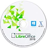 Picture Of LibreOffice 2019 Microsoft Word 2016 2013 2010 2007 365 Compatible Word Processor CD Software for PC Windows 10 8.1 8 7 Vista XP 32 64 Bit, Mac OS X & Linux - No Yearly Subscription!