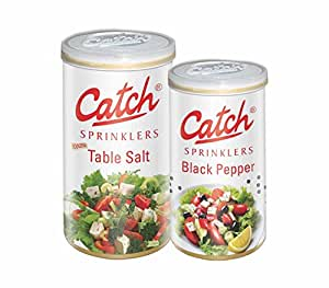 Catch Spices Table Salt 200g and Black Pepper 100gms