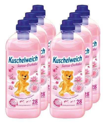 6er-vorteilspack-kuschelweich-weichspuler-weichspueler-seerose-orchidee-6000ml-fur-168-anwendungen