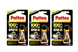 Original Pattex 100% Reparatur Gel - 3 x 8 g