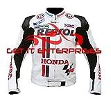 HONDA Repsol motocicletta Racing giacca di pelle