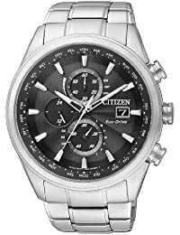 Citizen Herren-Armbanduhr Analog Quarz Edelstahl AT8011-55E