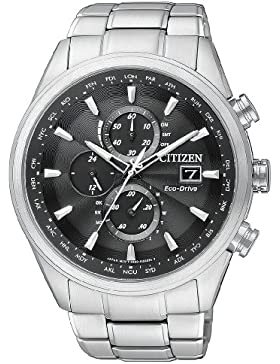 Citizen Herren-Armbanduhr XL Analog Quarz Edelstahl AT8011-55E