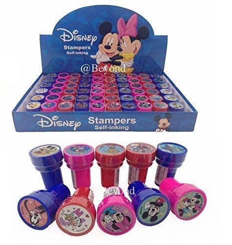 Disney - Tampons à encrage Automatique Mickey et Minnie Mouse 60 carats