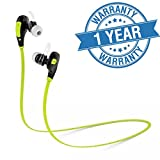 #6: Captcha Captcha Professional Bluetooth 4.1 Wireless Stereo Sport Headphones Headset Running Jogger Hiking Exercise Hi-Fi Sound Hands-Free Calling