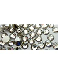 Swarovski Crystals Cristal Clear (001) faux diamant Nail Art- 2.6Mm (Ss9) 70 Pieces