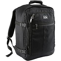 Mini Metz Mochila de equipaje de Mano de 30 litros – 45 x 35 x 20 cm. (Negro)