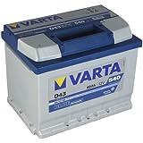 Varta D43 BLUE DYNAMIC CAR BATTERY/Battery 60Ah