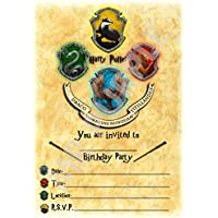 Amazon Co Uk Harry Potter Invitations Party Supplies Toys Games