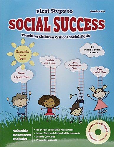 First Steps to Social Success w/ CD by Diane Senn (2015-06-30)