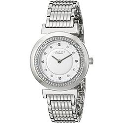 Johan Eric Women's JE1200-04-001B Djursland Analog Display Japanese Quartz Silver Watch