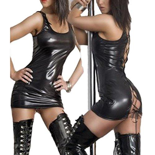 sex-play-sexy-lingerie-brevet-robe-en-cuir-cuir-lutun-blackxl