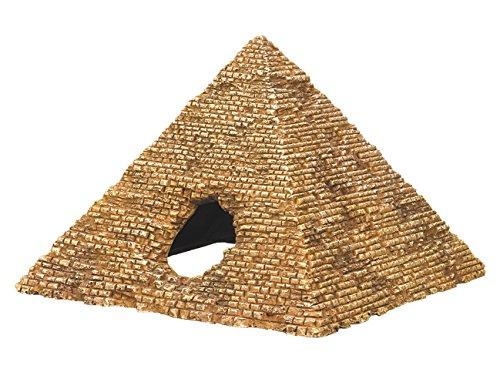 """Nobby 28523 Aqua Ornaments """"Pyramide"""", 14.5 X 14.2 X 10.0 cm"""