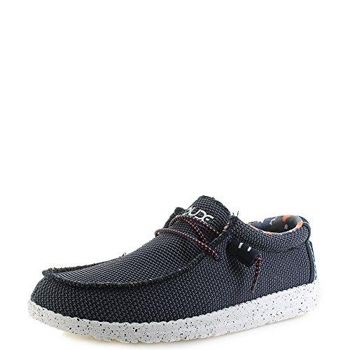 HEY DUDE hommes à lacets chaussure Wally sox- bleu multiple, Super prix