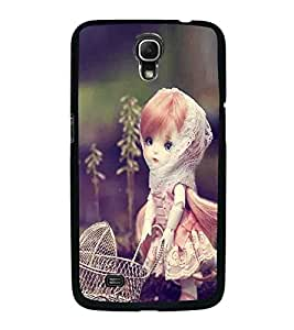 Fuson Premium 2D Back Case Cover Stylish girl With Multi Background Degined For Samsung Galaxy Mega 6.3 i9200::Samsung Galaxy Mega 6.3 i91200