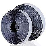 Sinwind Belcro Adhesivo Fuerte, Velcro Doble Cara, Velcro Adhesivo Cinta de Velcro Autoadhesiva, 20 mm de Ancho, 8 Metros de Largo