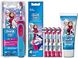 Braun Oral-B Stages Power Kids elektrische Zahnbürste - Kinder, Akku, Frozen Eiskönigin