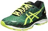 Asics Gel Nimbus 18 - Zapatillas de Running, Unisex, Verde (Pine/Flash Yellow/Black), 39.5