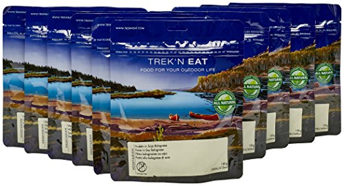 Trek'n Eat Best of Vegi Paket 2017 Camping Mahlzeit