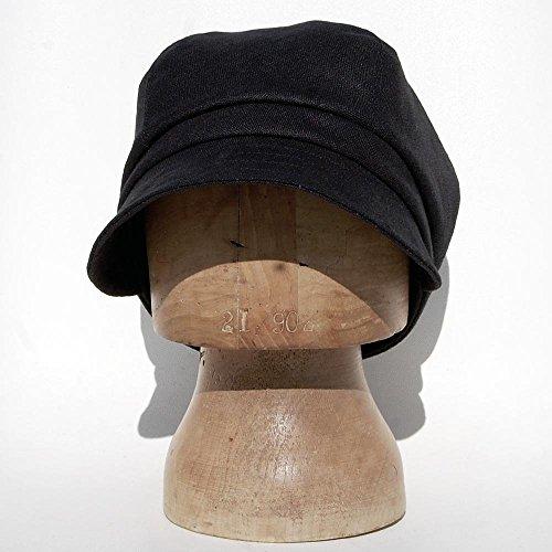 dffd644f10759 ZUT hats - Captains hat in black Italian designer linen - ZUTjean - Buy  Online in Oman.
