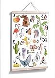 ABC Poster - Großer, bunter Lernspaß in A1