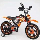GUANHONG Moto Enfants vélo 12 Pouces 16 Pouces bébé vélo garçon Fille 3 Ans 5 Ans 9 Ans 10 Ans