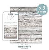 Craft Consortium Premium Decoupage Papier–Nordic Holz