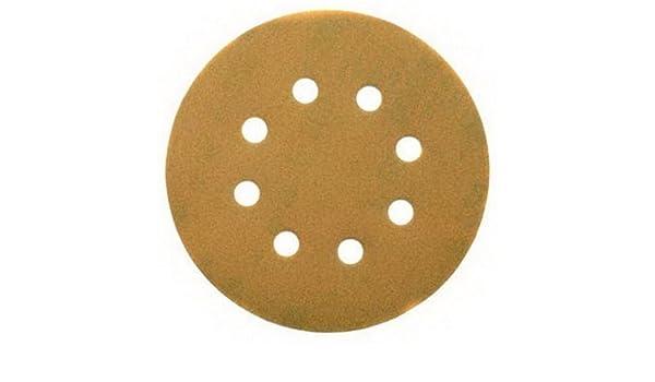Dewalt dt3105-qz/ /Pack 10/Sanding Discs with 8/Holes 125/mm Grain 120