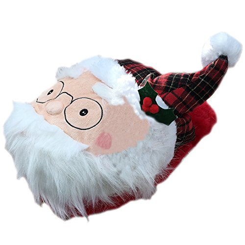 Comfy Feet  Christmas,  Unisex Erwachsene hinten offen weihnachtsmann