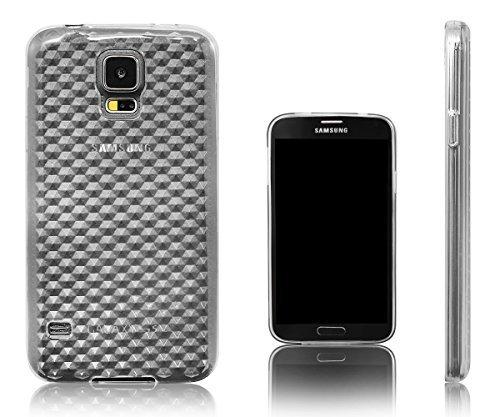 Xcessor Diamond Flexible TPU Gel Schutzhülle Für Samsung Galaxy S5I9600-Eltern/transparent Sg Shell Gel