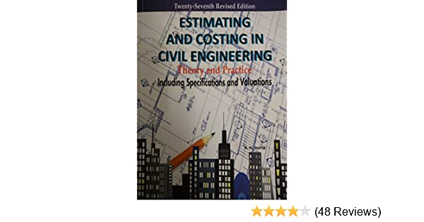 Amazon in: Buy Estimating and Costing in Civil Engineering