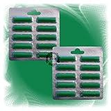 20x Duftstäbchen - Duft Sommerwiese für viele Staubsauger z.B. Kirby, AEG, Vorwerk, Miele, Bosch, Siemens (6016)