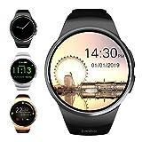 Evershop 1,5 Zoll IPS Runde SmartWatch Wasserdicht Bluetooth Smartwatches mit SIM/TF Card Solt