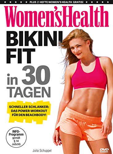 Women's Health - Bikinifit in 30 Tagen (Womens Bodybuilding Bücher)