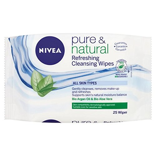 Lingettes Nivea Pure & Natural