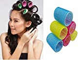 AASA Hair Rollers Curlers For Women, Hair Roller Medium Size, Multicolour, 25Gram, 6