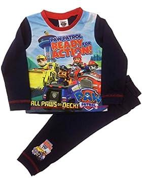 Kinder Paw Patrol Jungen Pyjamas Nachtwäsche Alter 18-24 Monate bis 5 Jahre