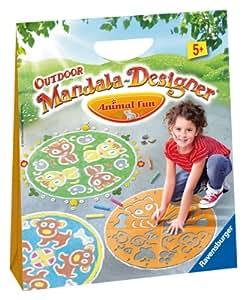 Ravensburger - 29782 - Loisir Créatif - Mandala - Designer Outdoor Animal Fun