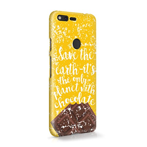 save-the-earth-its-only-planet-with-chocolate-plastic-phone-case-cover-shell-for-google-pixel-schutz