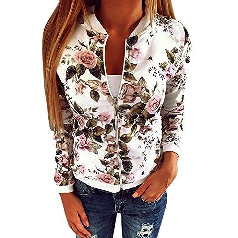 Manteaux Hiver Femme - Eleery Veste Pull Femmel Manteau Jacket Floral