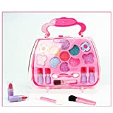 TOYMYTOY Caja de maquillaje Princess Pretend Traveling Makeup Kids...