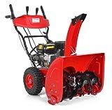 HECHT Benzin-Schneefräse 9562 SE Schneeschieber mit 62 cm Arbeitsbreite + E-Start 4,8 kW (6,5 PS)