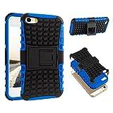 ECENCE Apple iPhone SE/5 5S Hybrid Outdoor custodia Prottetivo Caso Cover Silicone Bumper 21040504